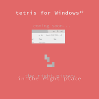 Tetris for Windows 10 Concept by dpcdpc11