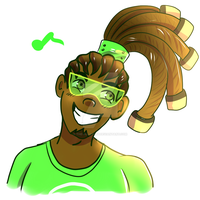 [Overwatch] Smol Lucio by The-AlleyCat
