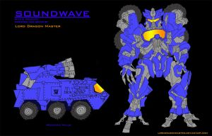 Soundwave - Concept Colour by Lorddragonmaster