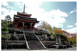 Temple in kyoto by khaira