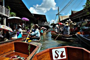 life on floating market VI by choney25