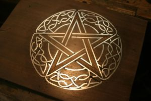Celtic 5pt Star by maclegno