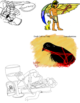 Paint Chat Sketch Dump 2-14-2012 by myu2k2