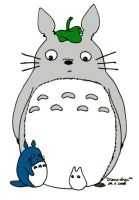 Totoro for Maxrogue by Mikha
