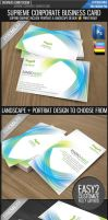 Supreme business card by Lemongraphic