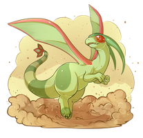 PokeddeXY - Flygon by oddsocket