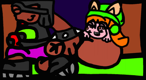 Lucuas And Myles Got A Large Sack Oof Candy by TheGr8estOne
