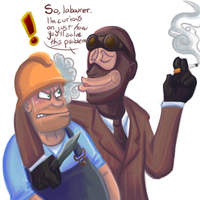 Smoke gets in your eyes by RKPiratedrawer