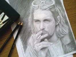 Kurt Cobain by AdushS