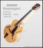 Beauregard Guitar Icon by MugenB16