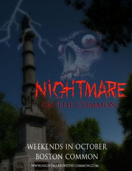 Nightmare on the Common Poster by darthy13