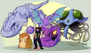 PBF - Pokemon Team by monokin