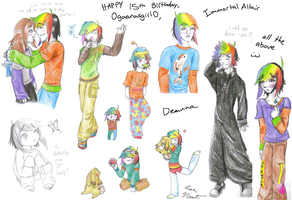Newt Page +Happy B-Day Deanna+ by Lemguin