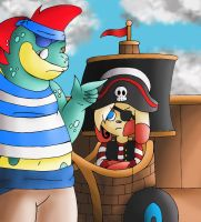 Pirate Event: Pirate Bully by YingYang-girl
