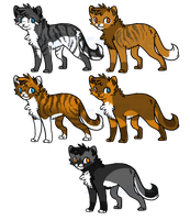 Foxfire x Starstream Hypo Kits by BettaRae