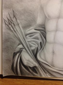 Art Project for College (Close up 2) by Chrissyissypoo19
