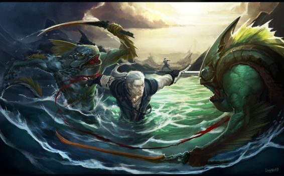 The Witcher Tale by Rayvell