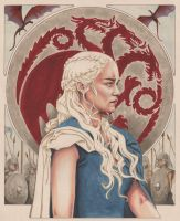 Daenerys Targaryen: Breaker of Chains by AllisonSohn