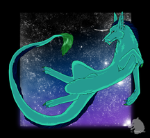 Vazefra in space by Narncolie