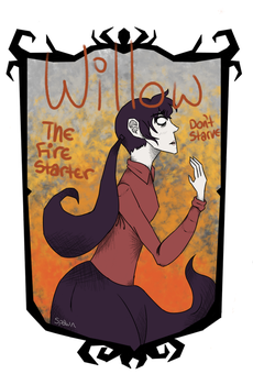 Willow - Don't Starve by Spawn-Of-Satan-666