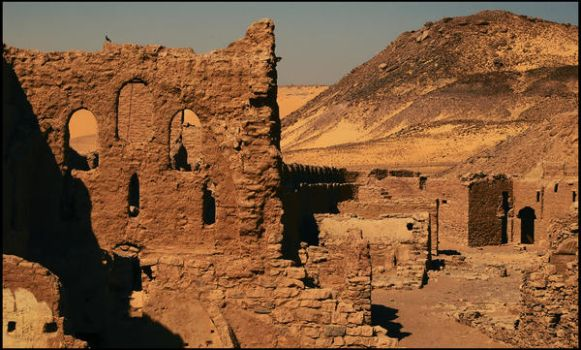 St Simeon Monastery by Yousry-Aref