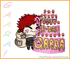 . : Gaara Birthday Present : . by FinalFlower