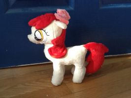 Applebloom plushie/ First filly test by Chanditoys