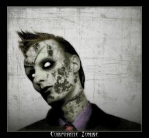 Corporate Zombie by spookyspinster