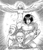 THESE BEAUTIFUL TITANS by sine-eang