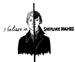 Believe in Sherlock 4 by saltylime