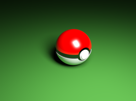 Pokeball - 3D Model #1 by hopeabandoner