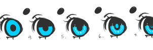 Step by Step (How to draw eyes) by Sheepieh
