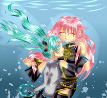 And I'm Home Miku Luka by Spark1eFountain