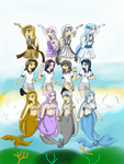 Mermaid Melody Pichi Pichi Pitch by RollingBubblesfan