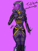 Tali'Zorah vas Normandy by Ai-Notsura