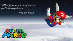Super Mario Inspirational Wallpaper by JanetAteHer