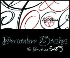 Decorative Brushes Set3 by NemesisDivina666