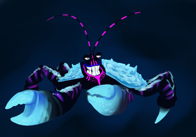 Tamatoa luminescent by Taneysha