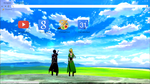 Sword Art Online Google Chrome Theme 3 1920x1080 by unenglishable