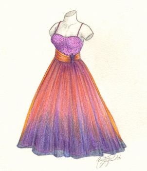 Prom Dress by kaykaykit