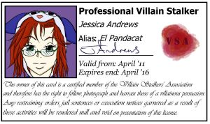 El Pandacat's VSA License by PandaCat-Productions