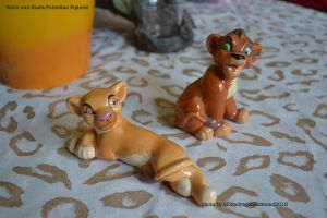 Kovu and Kiara Porcellain figures - TLK by MoondragonEismond