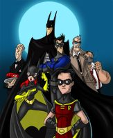 Dapper Dan's Bat Family by Hen-Hen