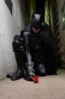 Batman- Two Roses by Leon-87