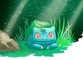 Bulbasaur by o0Mythius0o