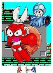Rockman Vs Cutman by Giosuke