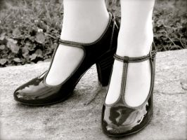 Snazzy Flapper Shoes by SomewhatSavvy