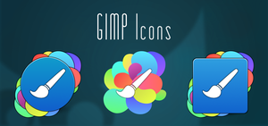 Gimp Icons. Updated by BogdanYaremak