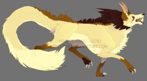 Commission - Fenrir by AbelPhee