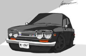 Dat in Black : 510 by ngarage